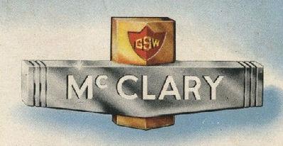 McClary GSW advertising logo