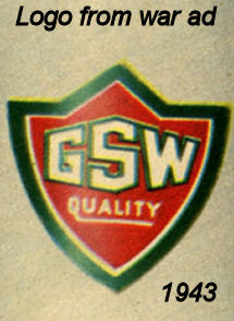 General Steel Wares 1943 logo war poster