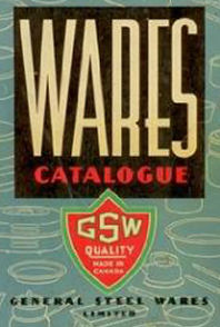 General Steel Wares (GSW) 1956 Logo from Catalog