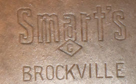 Smart's Brockville number 9 matching